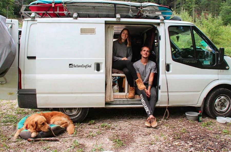Couple Give Up Their Jobs To Travel Around Europe