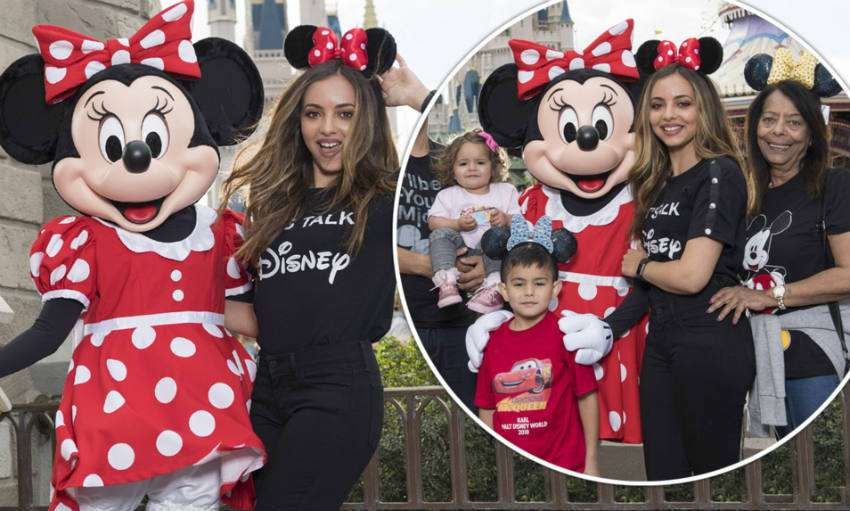 pictures of Jade Thirlwall on holiday