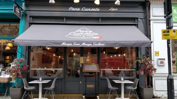 Pane Cunzato is a new Italian restaurant