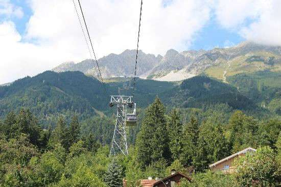 Innsbrucker Nordkettenbahnen cable car ride