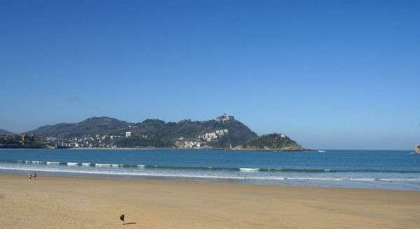 La Playa de la Concha beach