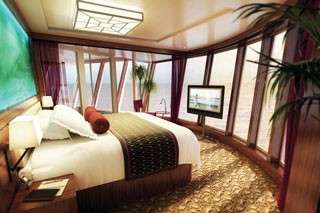 Norwegian Epic cruise Aft-Facing Penthouse with Balcony