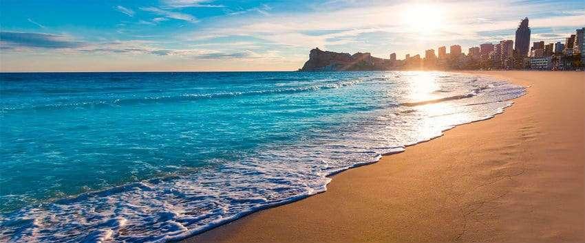 beaches in benidorm
