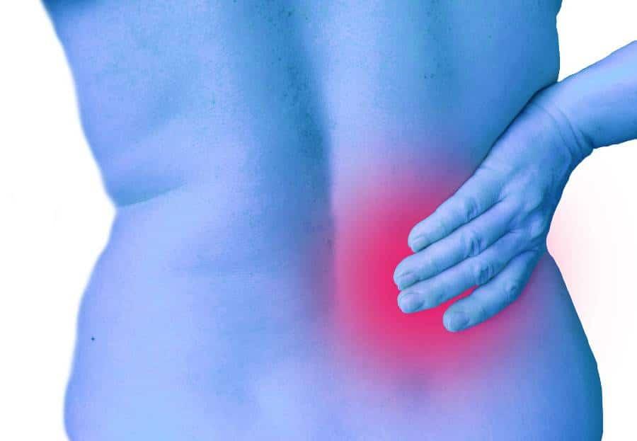 back injury self isolating