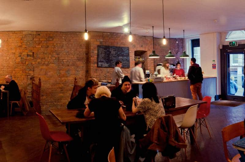 coffee shops manchester