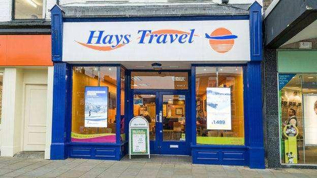 hays travel agency job cuts