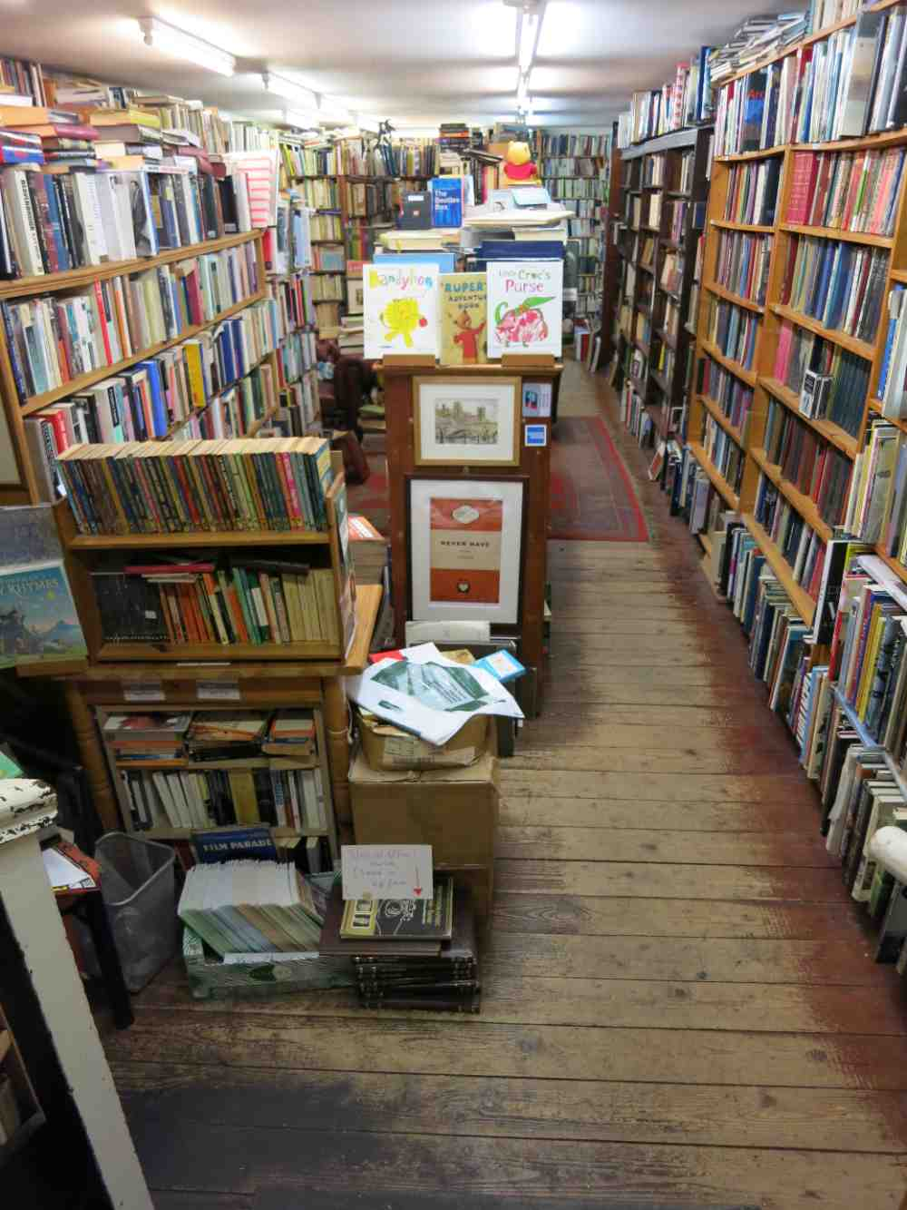 second hand bookstores manchester