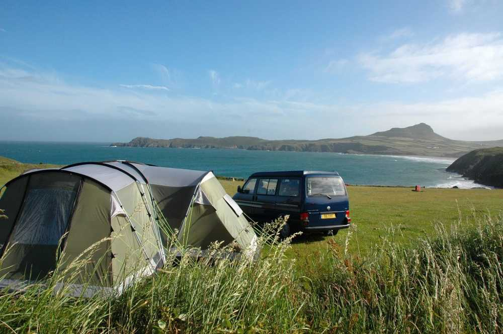 sea view campsites wales